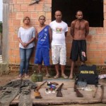 DirioOnLine - Armas so apreendidas em esconderijo em Marab