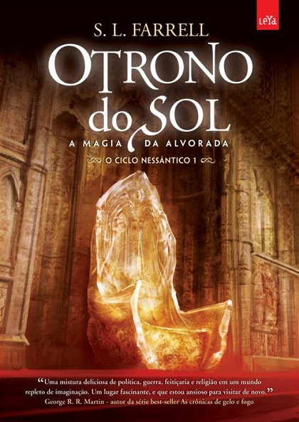 Livro o trono do sol