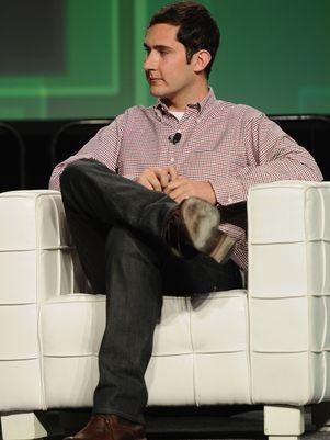 Foto de Kevin Systrom CEO da empresa INSTAGRAM em coletiva que confirma lançamento do mesmo para o Android