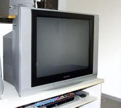 Foto meramente ilustrativa d euma tv de 29 polegadas