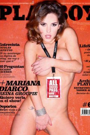 Mariana Diarco na capa da Playboy