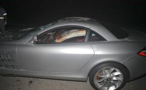 Carro de Thor Batista visto pelo Lado