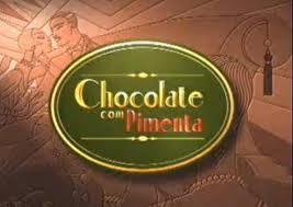Logo de chocolate com pimenta.