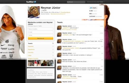bg do twitter do neymar