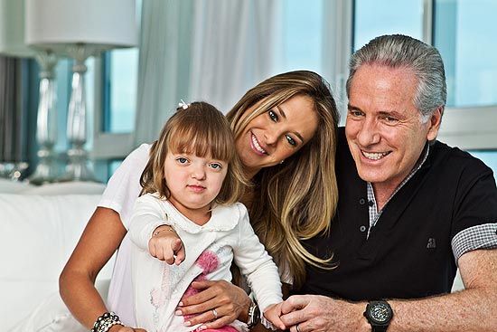 Rafaella Justus e familia
