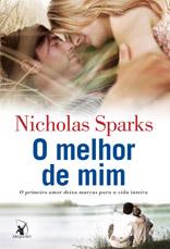 Capa do Livro O melhor de mim.