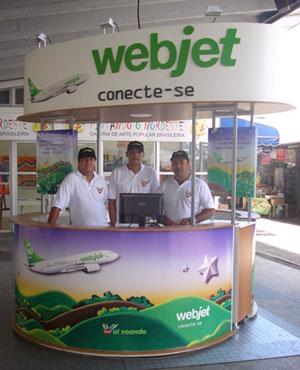 Estande Webjet