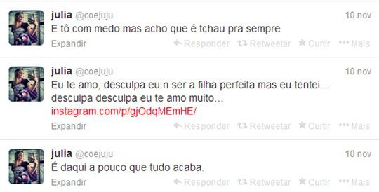 Julia Rebeca twitter