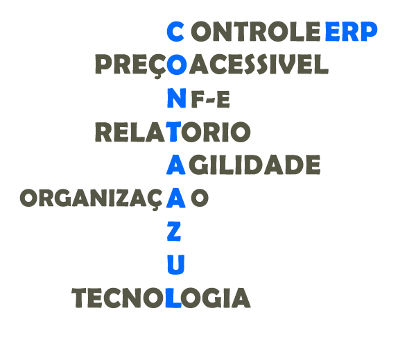 Nuvem de tags- Software contabil