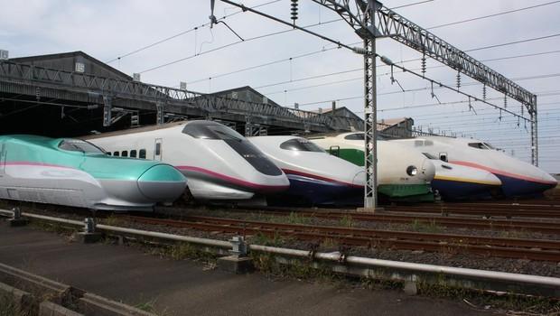 Tipos De Trem Bala Shinkansen